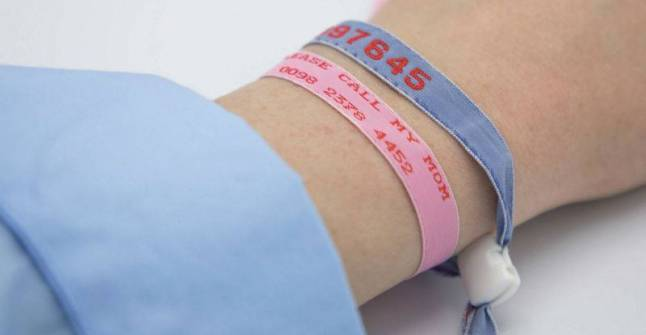 Kids ID bands